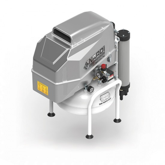 Compressor 2D Silenced 25L (with dryer)